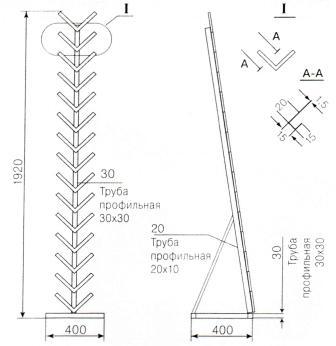 экспозиторы для керамической плитки Елочка-1 Липецк