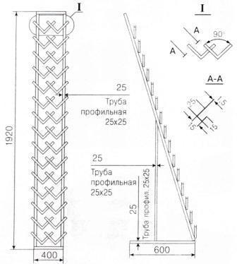 экспозитор для керамической плитки елочка-2 Липецк
